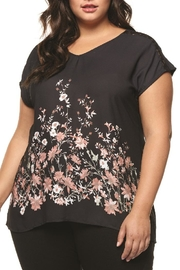 Dex/Black Tape Pink Floral Top - Product Mini Image