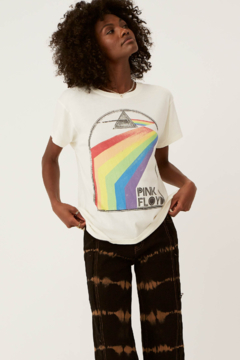 Shoptiques Product: Pink Floyd Retro Rainbow Tour Tee