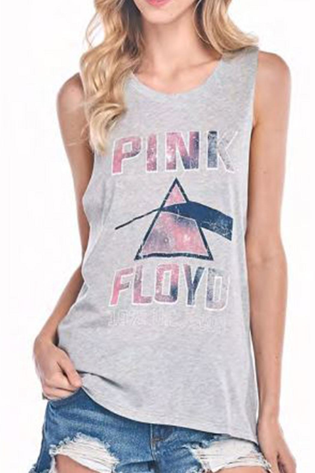 Knit Riot Pink Floyd Top - Main Image