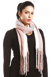 Lets Accessorize Pink Fringe Scarf - Product Mini Image