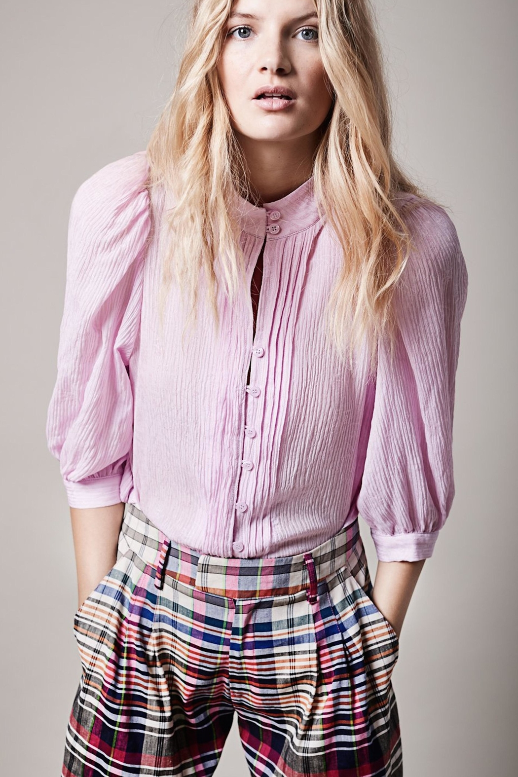 Smythe Pink Frontier Blouse - Main Image
