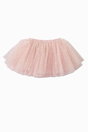 Mud Pie Pink Gold-Glitter-Mesh Tutu - Front cropped