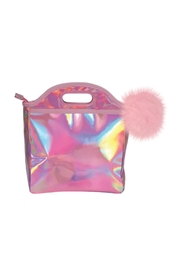 R+D Hipster Emporium  Pink Halographic Lunch - Front cropped