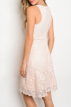 Miami Pink Lace Dress - Alternate List Image