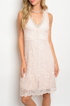 Miami Pink Lace Dress - Product List Image