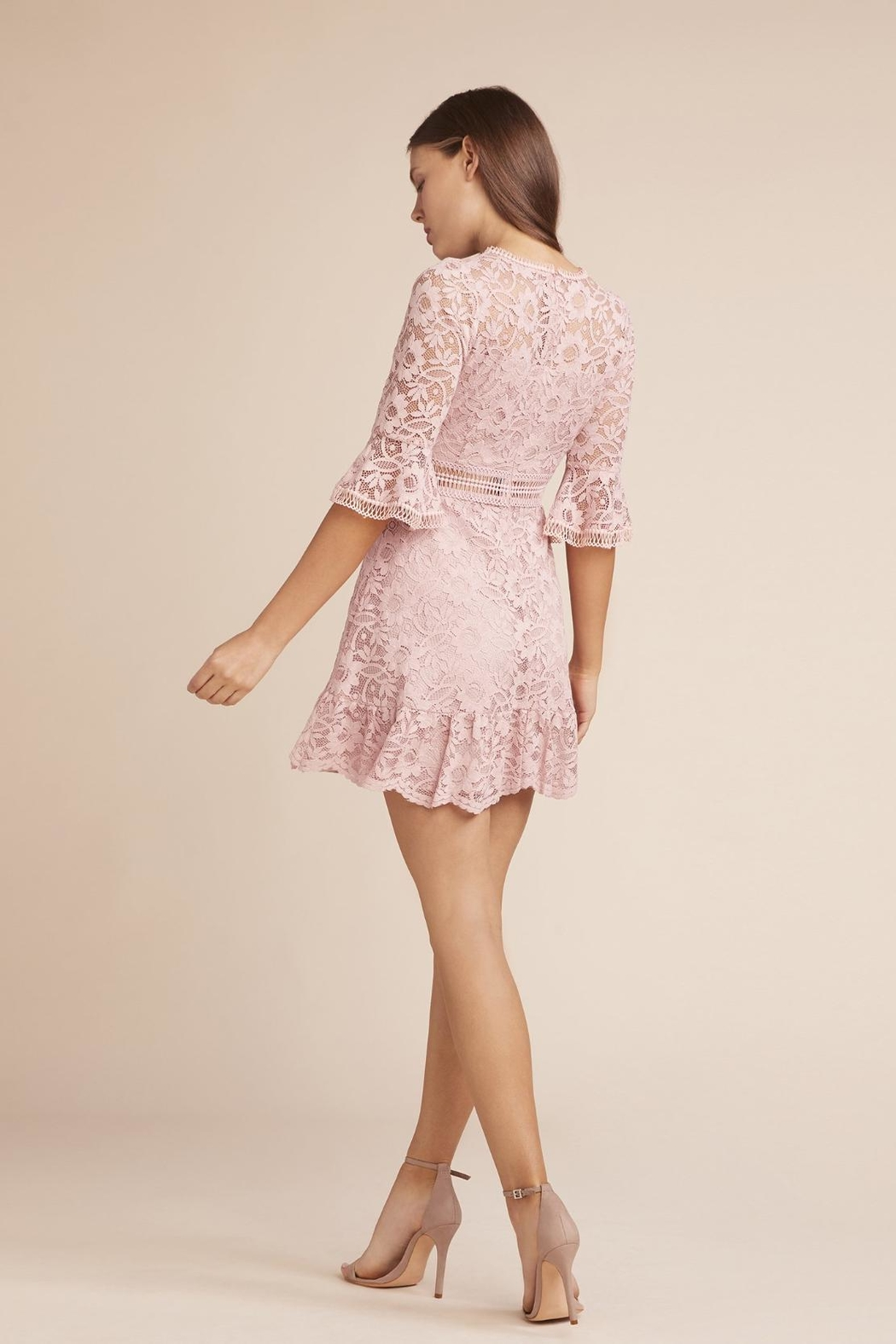 BB Dakota Pink Lace Mini - Front Full Image