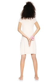 DESIGUAL Pink Lace Nighty - Side cropped