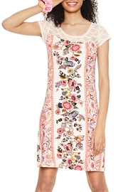 DESIGUAL Pink Lace Nighty - Product Mini Image