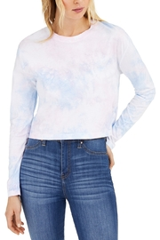 French Connection Pink Lady Tie Dye Long Sleeve Tee - Product Mini Image