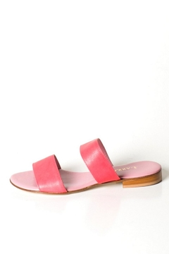 Pascucci Pink Leather Slide - Product List Image