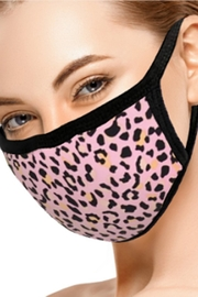 Ninexis PINK LEOPARD FACE MASK - Product Mini Image