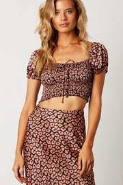 Cotton Candy Pink Leopard Top - Product Mini Image