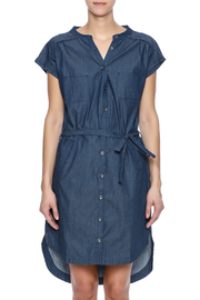 Pink Martini Casual Button Down Dress - Side cropped