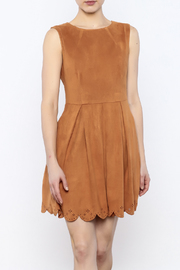 Pink Martini Wanna Be Suede Dress - Product Mini Image