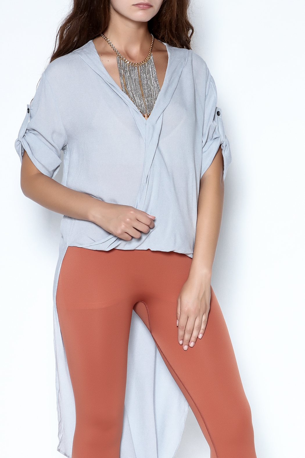 Pink Martini Wings Of Freedom Top - Front Cropped Image