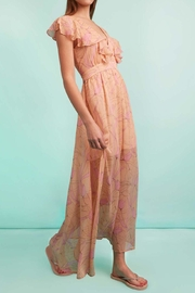 Traffic People Pink Maxi Dress - Front full body