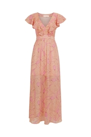 Traffic People Pink Maxi Dress - Front cropped