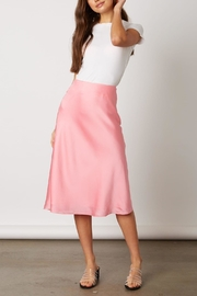 Cotton Candy LA Pink Midi Skirt - Product Mini Image