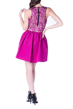 Marchesa Pink Mini Dress - Alternate List Image