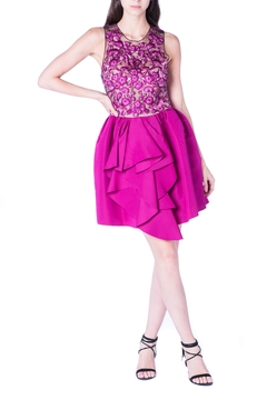 Marchesa Pink Mini Dress - Product List Image