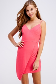 Do & Be Pink Mini Dress - Front cropped