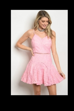 Dygarni Pink Mini Dress - Product List Image