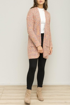 Hem & Thread Pink Open Cardigan - Product List Image