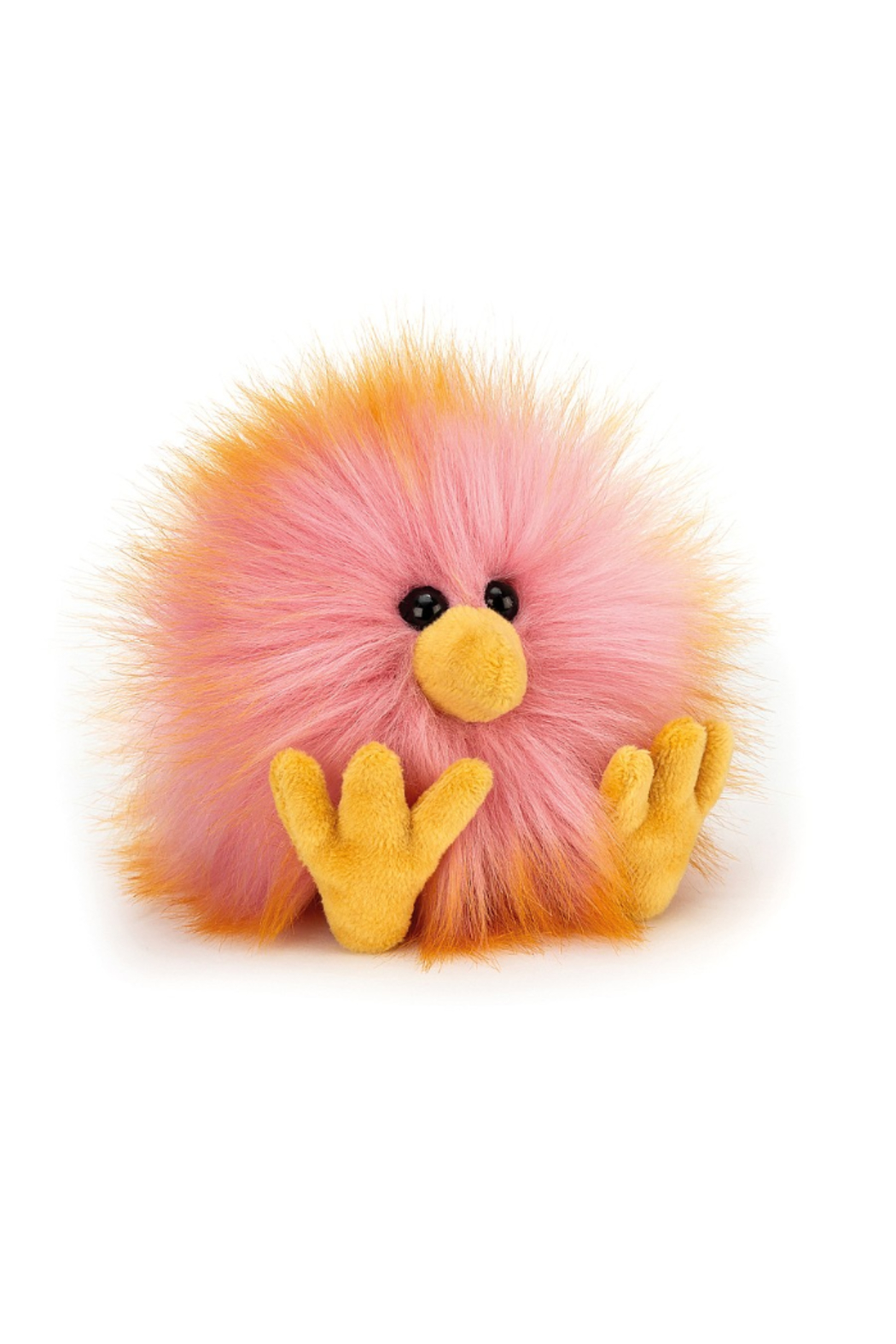 Jellycat  PINK OR YELLOW CRAZY CHICKS - Front Cropped Image