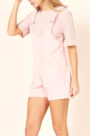 MINKPINK Pink Overall Romper - Side cropped
