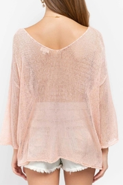 POL Pink Oversized Sweater - Side cropped