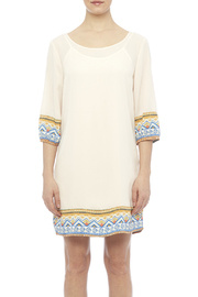 Pink Owl Apparel  Tribal Cream Dress - Side cropped