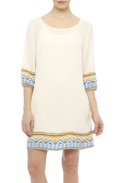 Pink Owl Apparel  Tribal Cream Dress - Product List Image