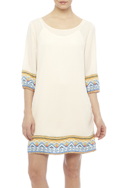 Pink Owl Apparel  Tribal Cream Dress - Product Mini Image
