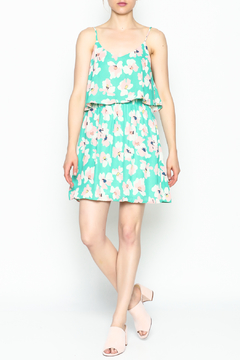 Pink Owl Floral Bouquet Dress - Product List Image