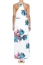 Pink Owl Floral Maxi Dress - Back cropped