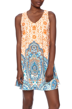Pink Owl Geo Print Dress - Product List Image