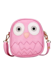 Zomi Gems Pink-Owl Mini Purse - Front cropped