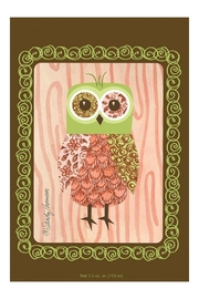 Fresh Scents Pink Owl Sachet - Product Mini Image