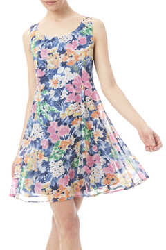 Pink Owl Swing Dress - Product List Image