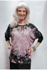 Apparel Love Pink Panache Tunic Top - Product Mini Image