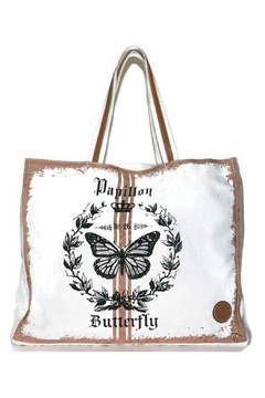 Le Papillon Pink Papillon Tote - Alternate List Image