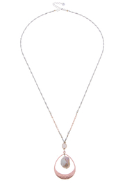 NAKAMOL CHICAGO Pink Pearl necklace - Front cropped