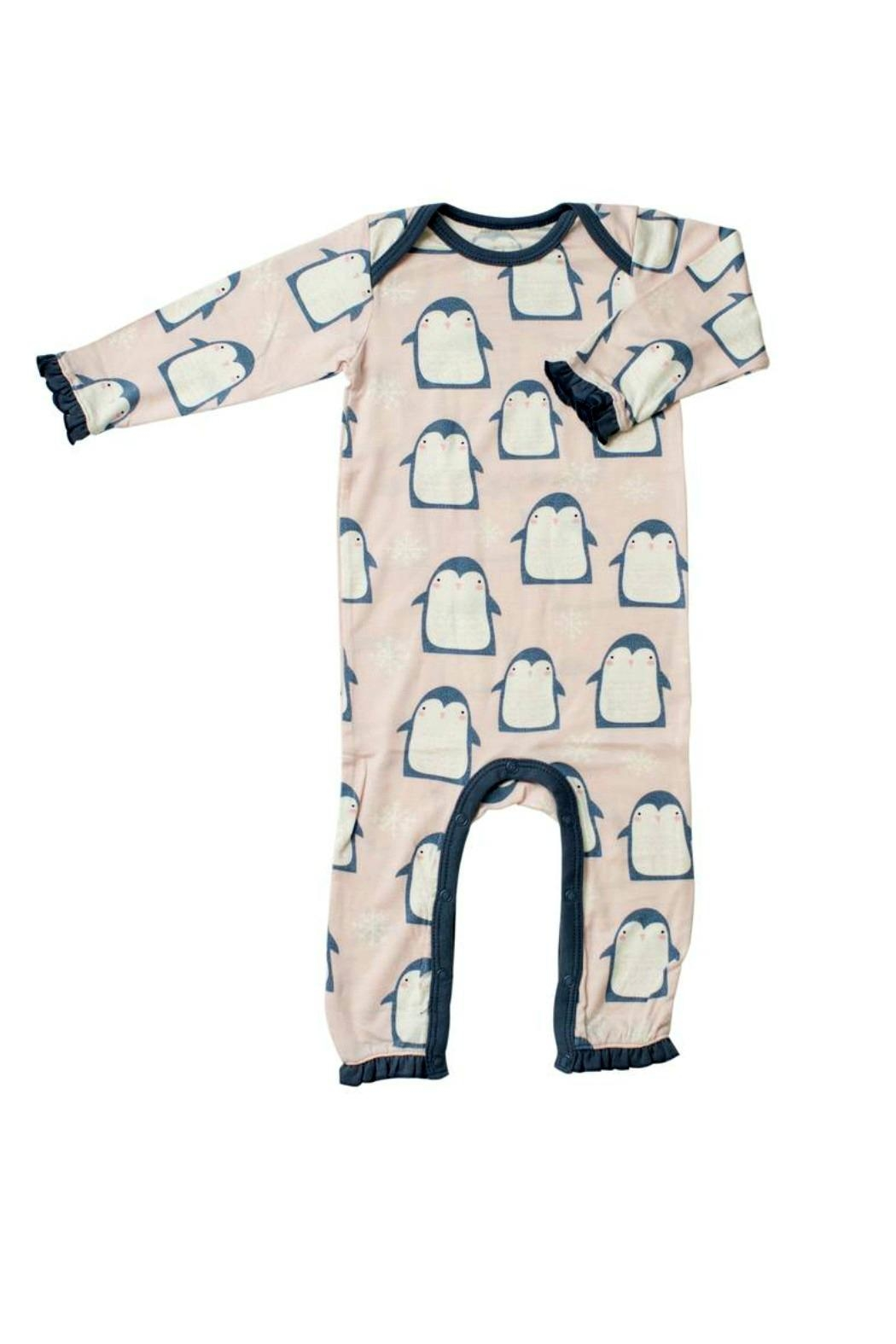 Bestaroo Pink Penguin Coverall - Front Cropped Image