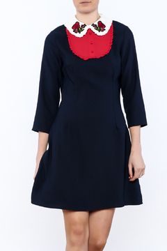 Shoptiques Product: Navy Mini Dress