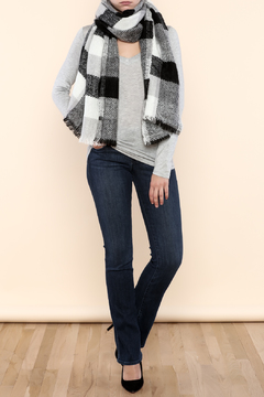 Shoptiques Product: Plaid Blanket Scarf