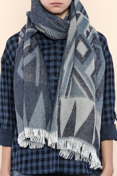 Shoptiques Product: Tribal Blanket Scarf