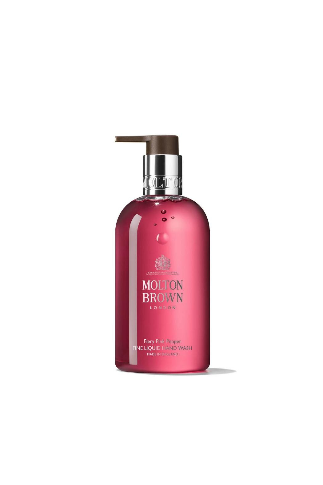 Molton Brown Fiery Pink Pepper Fine Liquid Hand Wash - Front Cropped Image