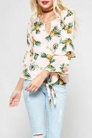 Promesa USA Pink Pineapple Top - Front cropped