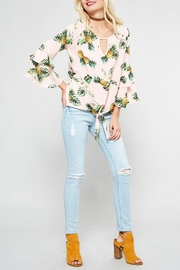 Promesa USA Pink Pineapple Top - Front full body