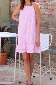jenn & jo Pink Pinstripe Dress - Product Mini Image